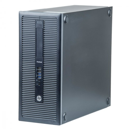 Sistem HP Prodesk 600 G1 Tower i5-4590, 4GB DDR3, 500GB, no DVD