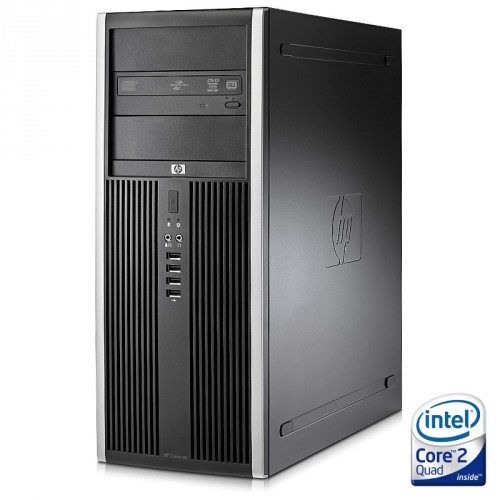 Sistem HP Elite 8000 Tower, C2D E8400 3.00 GHz, 4GB DDR3, 250GB