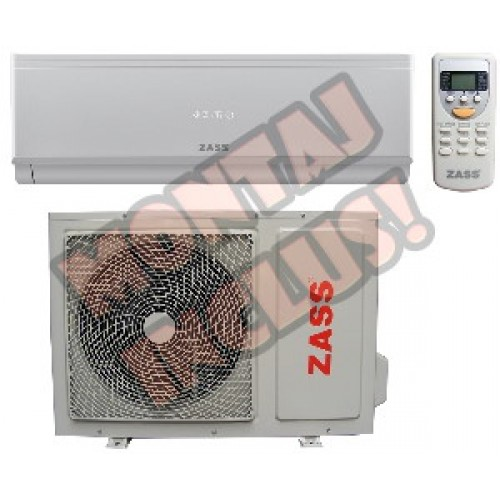 Aer conditionat inverter Zass 9000 BTU / ILN, kit instalare inclus