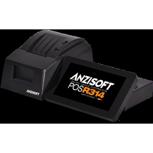 Casa de marcat computerizata Anzi Soft POS R314 Xchange - schimb valutar