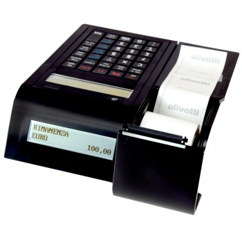 Olivetti Form 200 - display dublu, acumulator, USB, microUSB, RS232, LAN, optional Wifi, GPRS
