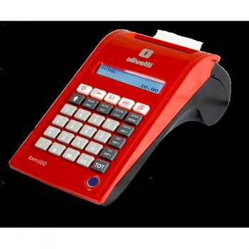 Olivetti Form 100 - display dublu, acumulator, USB, microUSB, RS232, LAN, optional Wifi, GPRS