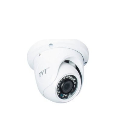 Camera Analogica TVT TD-7514TSL, TVI, Dome, 1MP 720P, CMOS OV 1/4 inch, 2.8mm, 30 LED, IR 20m, carcasa metal